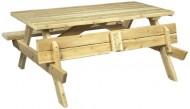 Cedarlooks 020021A Cedar Picnic Table