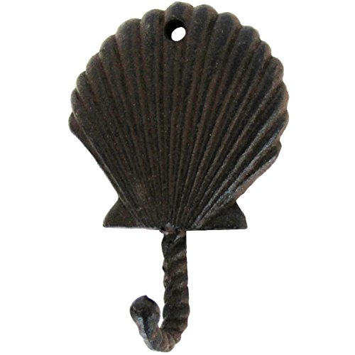 Scallop Sea Shell Wall Hook