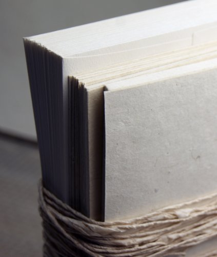 Seed Embedded Recycled Lotka Invitation Paper DIY Kit of 25 Natural Rustic
