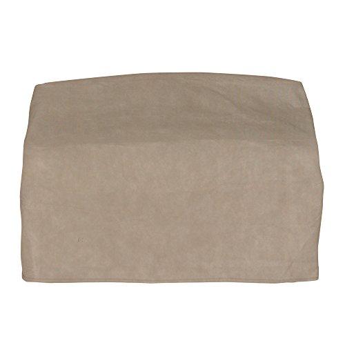Budge English Garden Medium Outdoor Sofa Cover P3W02PM1, Tan Tweed (37 H x 79 W x 37 D)