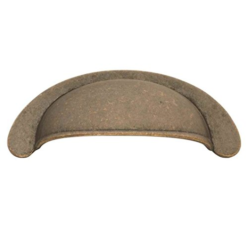 Hickory Hardware PA1022-WOA 64mm Oxford Antique Pull, Windover Antique