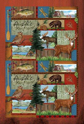 Toland Home Garden Rustic Retreat 12.5 x 18-Inch Decorative USA-Produced Garden Flag