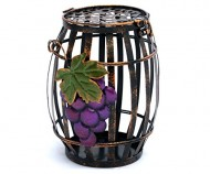 Rustic Wine Barrel Cork Holder – Wine Gift Idea By Thirteen ChefsTM