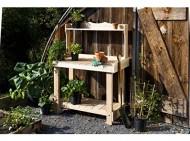 Rustic Natural Cedar Furniture 3100521 Potting Bench