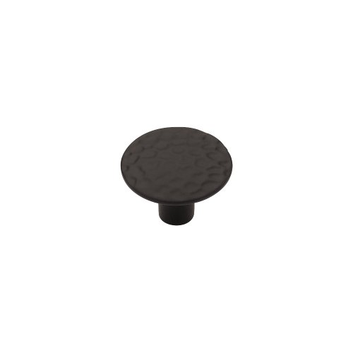 LIBERTY P94500H-BL-C 1-1/8-Inch Hammercraft Round Cabinet Hardware Knob