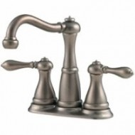 Pfister T46-M0BE Marielle 3-Hole Widespread Faucet – Rustic Pewter