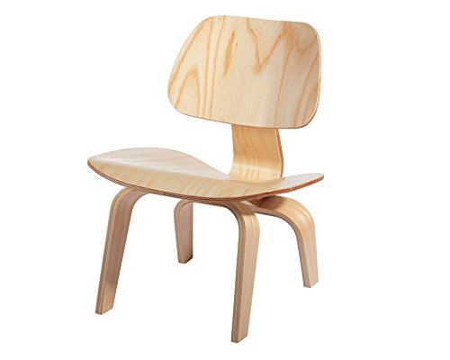 Mod Made Plywood Lounge Chair, Natural