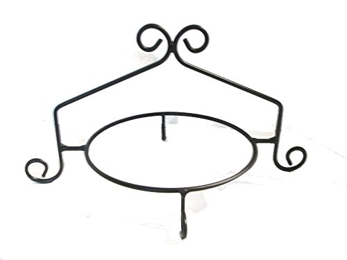 Wrought Iron Pie Stand/Rack Single Tier Hand Made