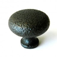 Lot of 20 Rustic Hammered Oil Rubbed Bronze 1 1/4″ Cabinet Knob Pulls C023ORB Ancient Treasures