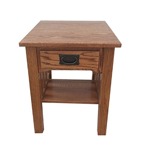 Shaker End Table Side Table Solid Oak Made By Amish Craftsmen