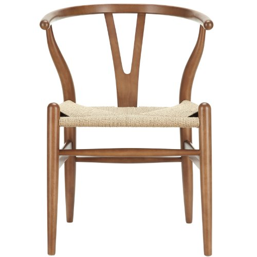Hans Wegner Amish Walnut Wishbone Y Dining Chair