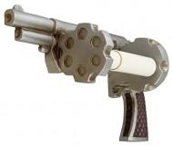 Pistol / Revolver Toilet Paper Holder