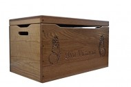 Custom Engraved Amish Toy Chest, Hope Chest Solid Cherry 36″ Carved Personalized – Amish Custom Handmade Pick Your Own Stain