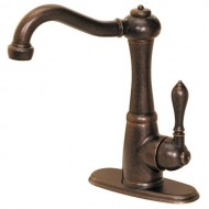 Pfister 072-M1UU Marielle Single-Handle Bar Faucet, Rustic Bronze