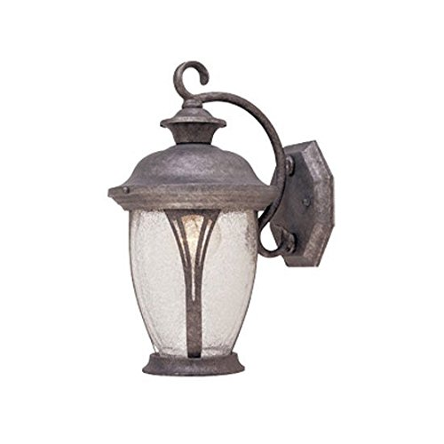Designers Fountain 30511-RS Westchester Wall Lanterns, Rustic Silver