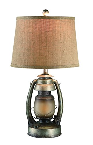 Crestview Lighting CIAUP530 Oil Lantern Table Lamp