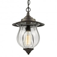 CLAXY® Ecopower Foyer outdoor Glass Pendant Lighting fixture