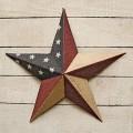 Custom Decor Rustic Star Garden Flag 1538fm Rustic