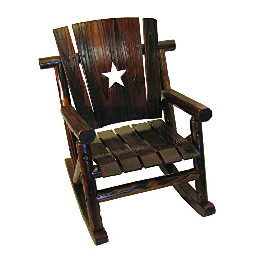 Char Log Lil' Junior Rocker Chair with Star
