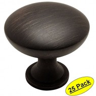 Cosmas® 5305ORB Oil Rubbed Bronze Traditional Round Solid Cabinet Hardware Knob – 1-1/4″ Diameter – 25 Pack