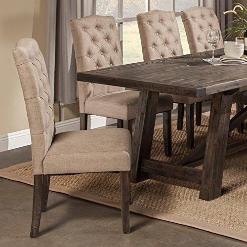 Alpine Furniture Newberry Parson Chairs – Set of 2