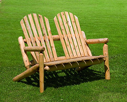 White Cedar Outdoor Park Bench *Unfinished*