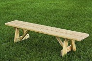 Pressure Treated Pine 42″ Traditional Picnic Bench Amish Made USA- Unfinished