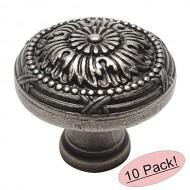 Cosmas 9460WN Weathered Nickel Cabinet Hardware Round Knob – 1-1/4″ Diameter – 10 Pack